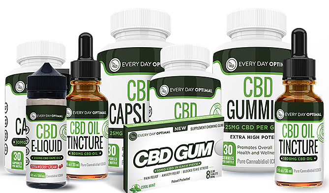 <strong>Flash Sale! - Every Day Optimal CBD <strong><br/>Save 20% - Today Only!